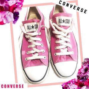 CONVERSE ALL STAR Dark Pink Chuck Taylor Low Tops
